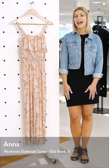 Ruffle Detail Culotte Jumpsuit, sales video thumbnail