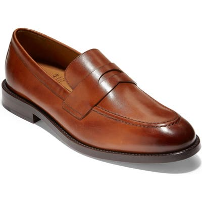 Cole Haan American Classics Kneeland Penny Loafer, Brown