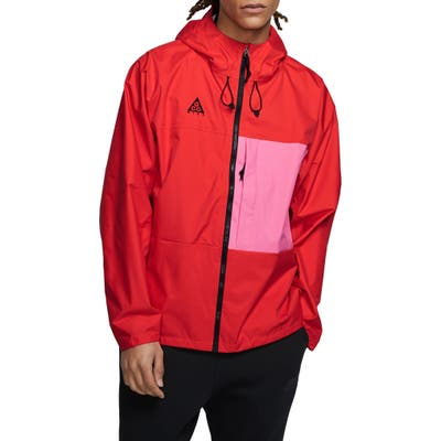 Nike Acg Packable Jacket, Red