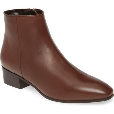 Aquatalia Fuoco Water Resistant Bootie, Brown