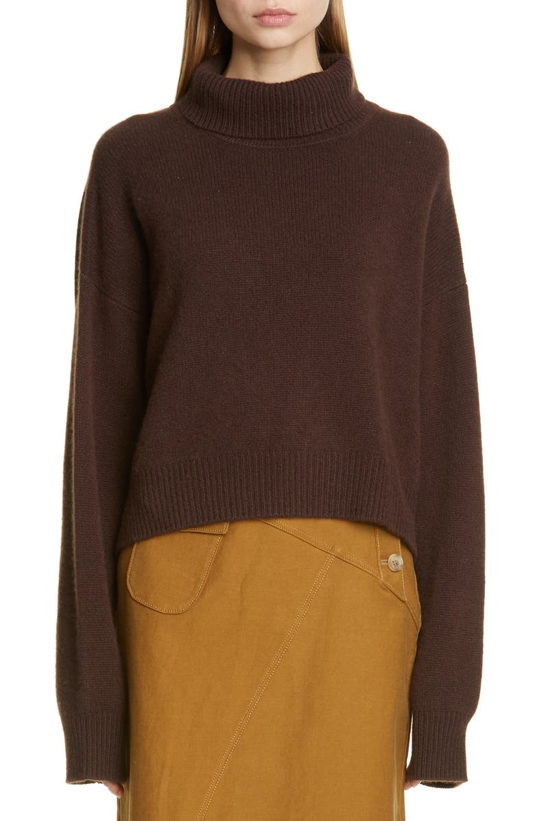 REJINA PYO Lyn Cashmere Sweater, Main, color, BROWN