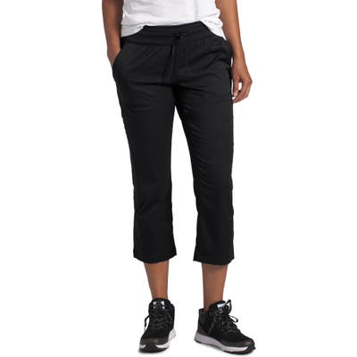 Plus Size The North Face Aphrodite Motion Water Repellent Capri Pants, Black