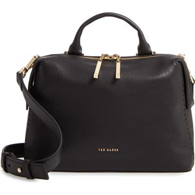Ted Baker London Emilyy Leather Top Zip Tote - Black
