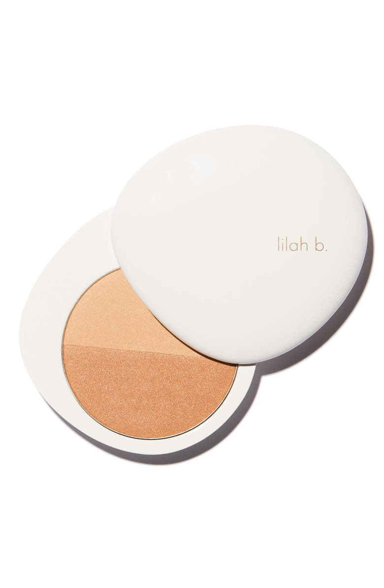 LILAH B. Bronzed Beauty<sup>™</sup> Bronzer Duo, Main, color, B.SUN-KISSED