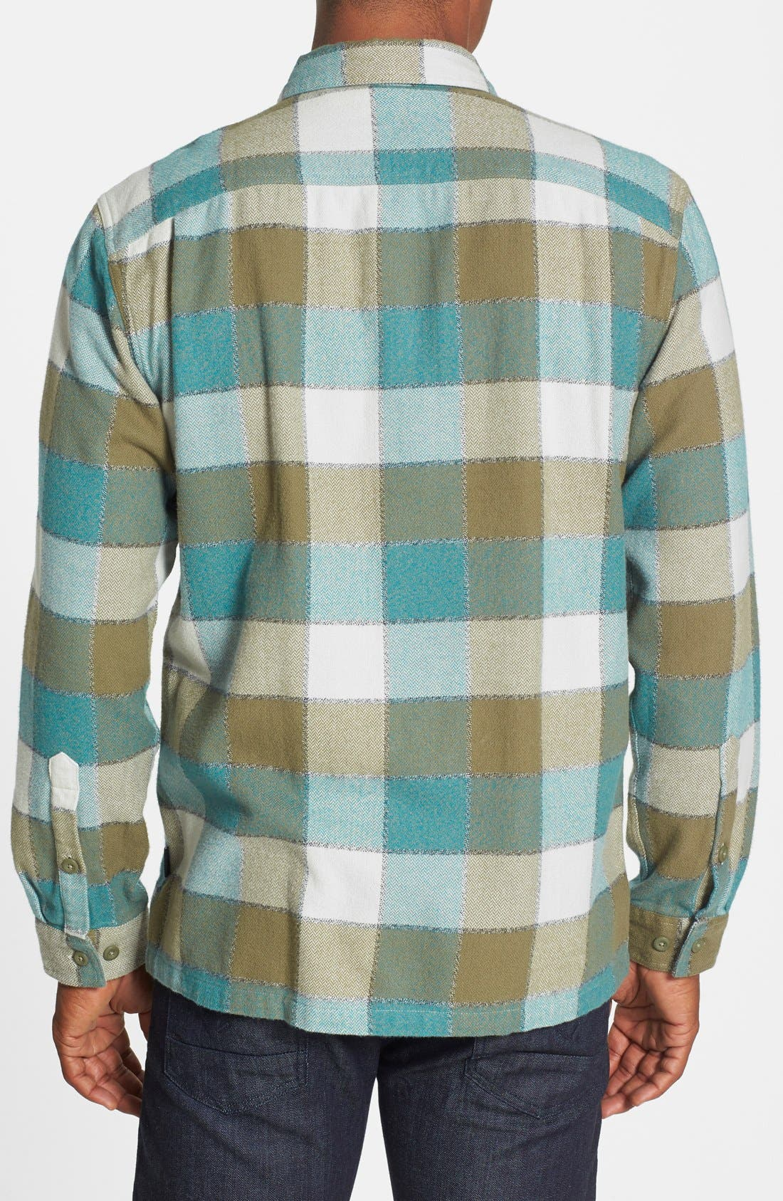 ,                             'Fjord' Regular Fit Organic Cotton Flannel Shirt,                             Alternate thumbnail 101, color,                             301