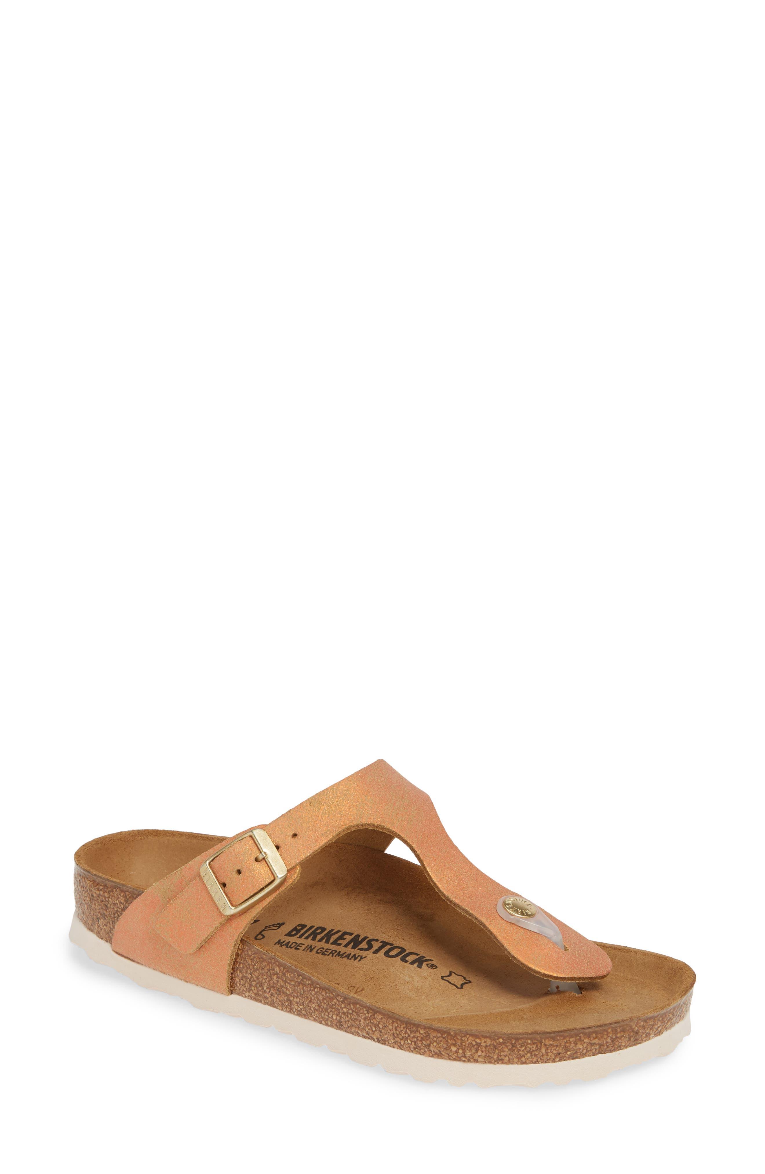 Birkenstock Gizeh Flip Flop,8.5 - Pink