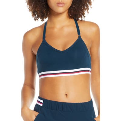 Lndr Galaxy Sports Bra, Blue