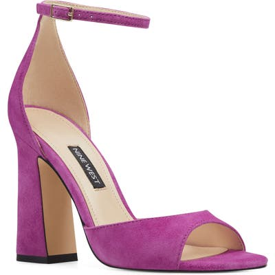 Nine West Gavyn Ankle Strap Sandal, Pink