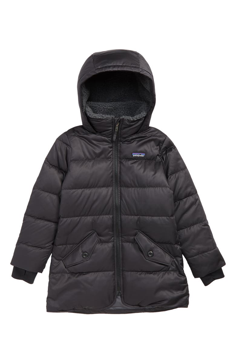 PATAGONIA Windproof & Waterproof 600 Fill Power Down Parka, Main, color, 001