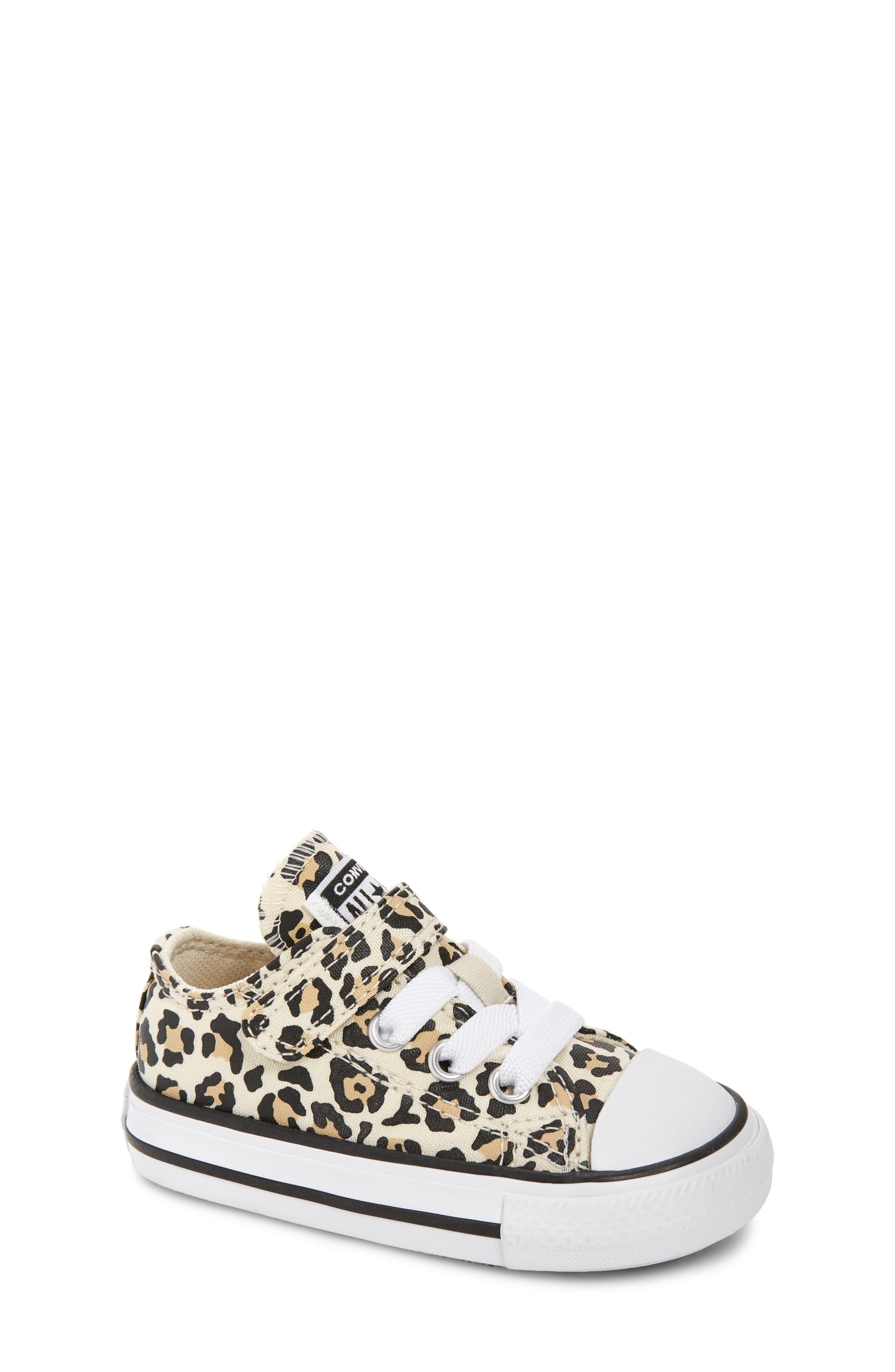 Converse | Leopard Spot Low Top Sneaker