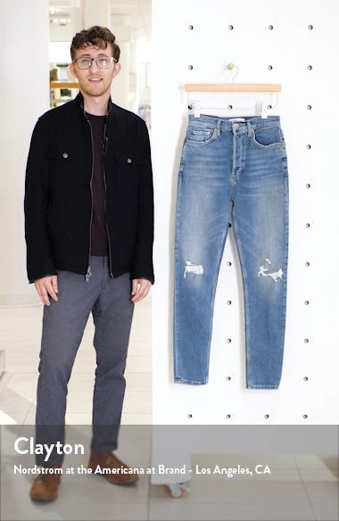 Originals Ripped High Waist Skinny Jeans, sales video thumbnail