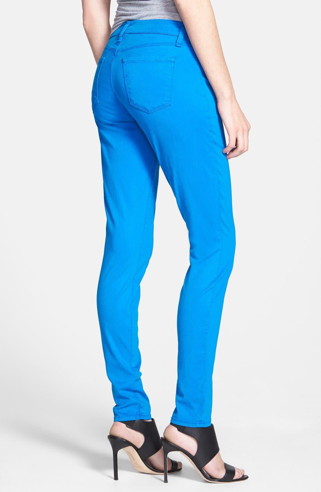 ,                             '485' Mid Rise Super Skinny Jeans,                             Alternate thumbnail 44, color,                             436