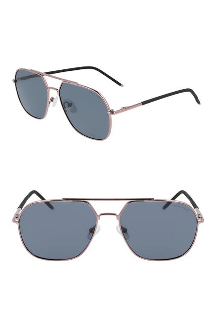 Image of Cole Haan 59mm Angular Navigator Sunglasses