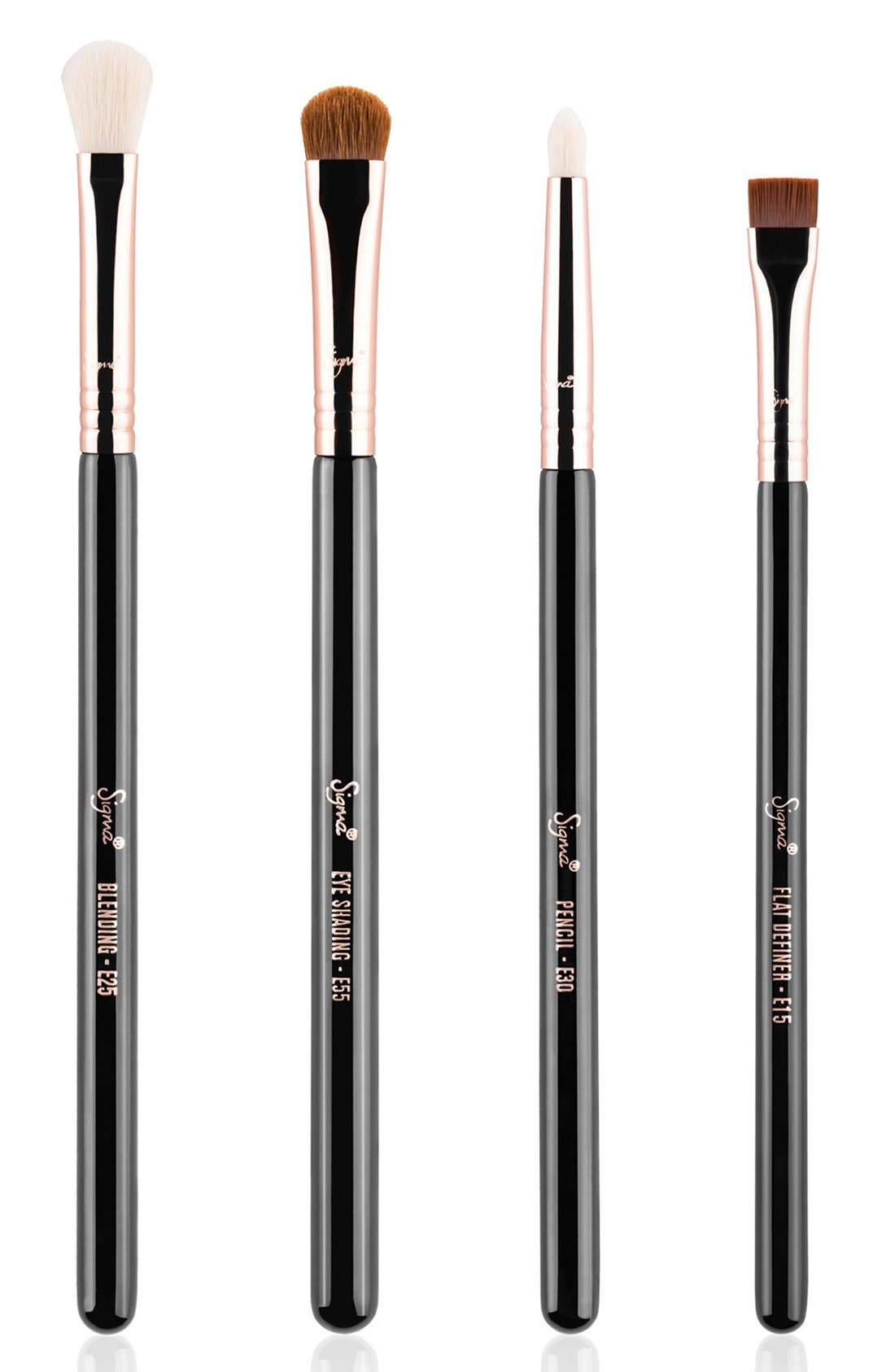 'Eyes on the Go' Brush Set, Main, color, 000