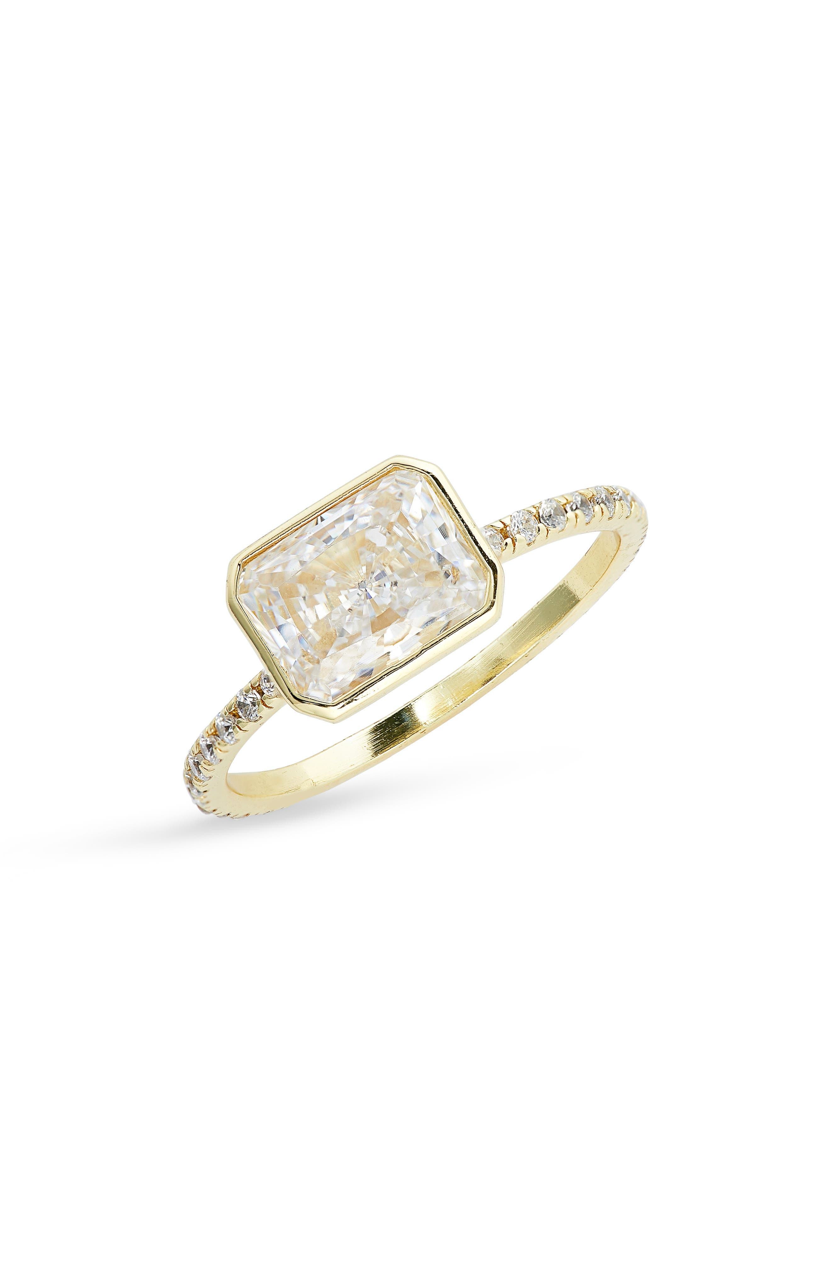 The Lisa Cubic Zirconia Ring