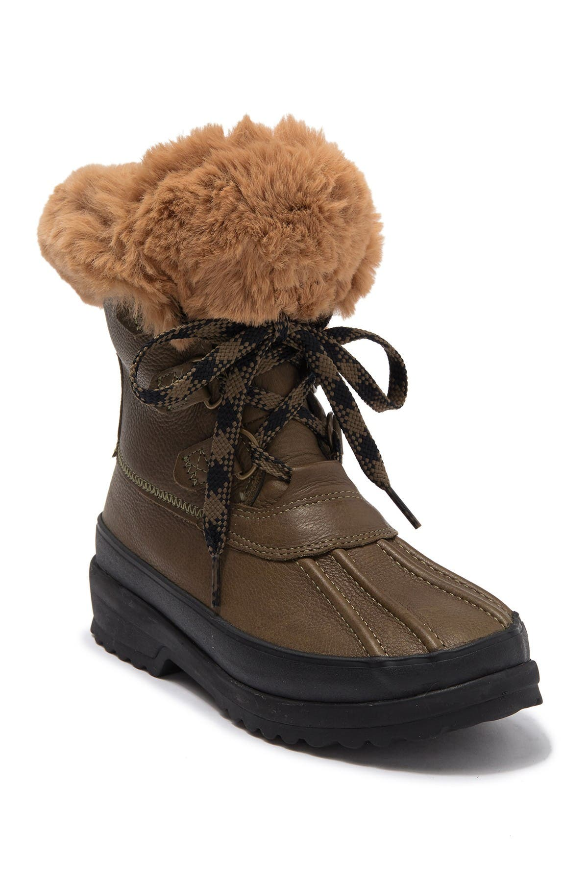 Image of Sperry Maritime Faux Fur Lined Winter Duck Boot