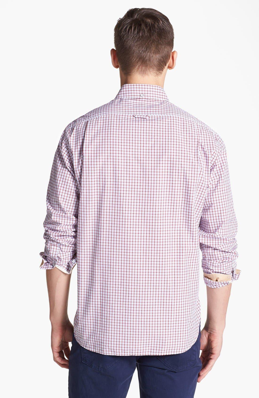 ,                             Plaid Sport Shirt,                             Alternate thumbnail 5, color,                             600