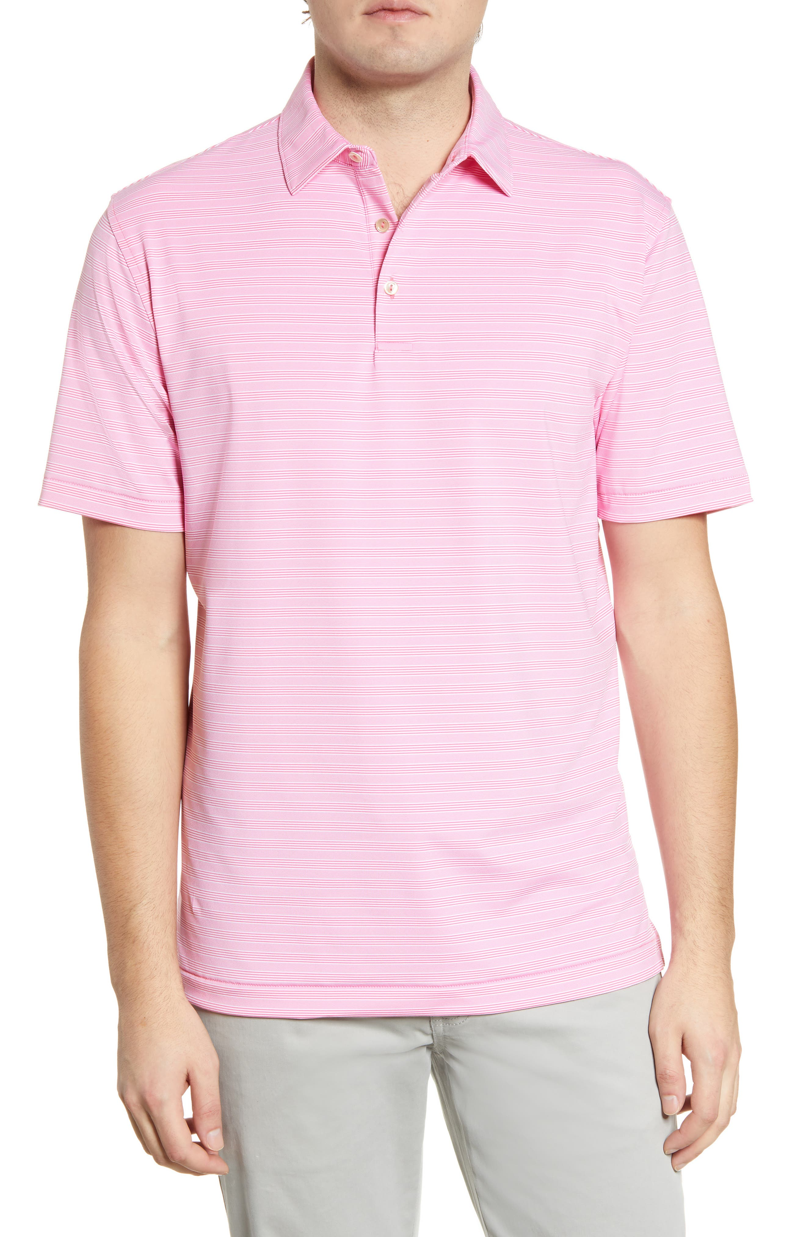Image of Peter Millar Sean Stretch Jersey Polo