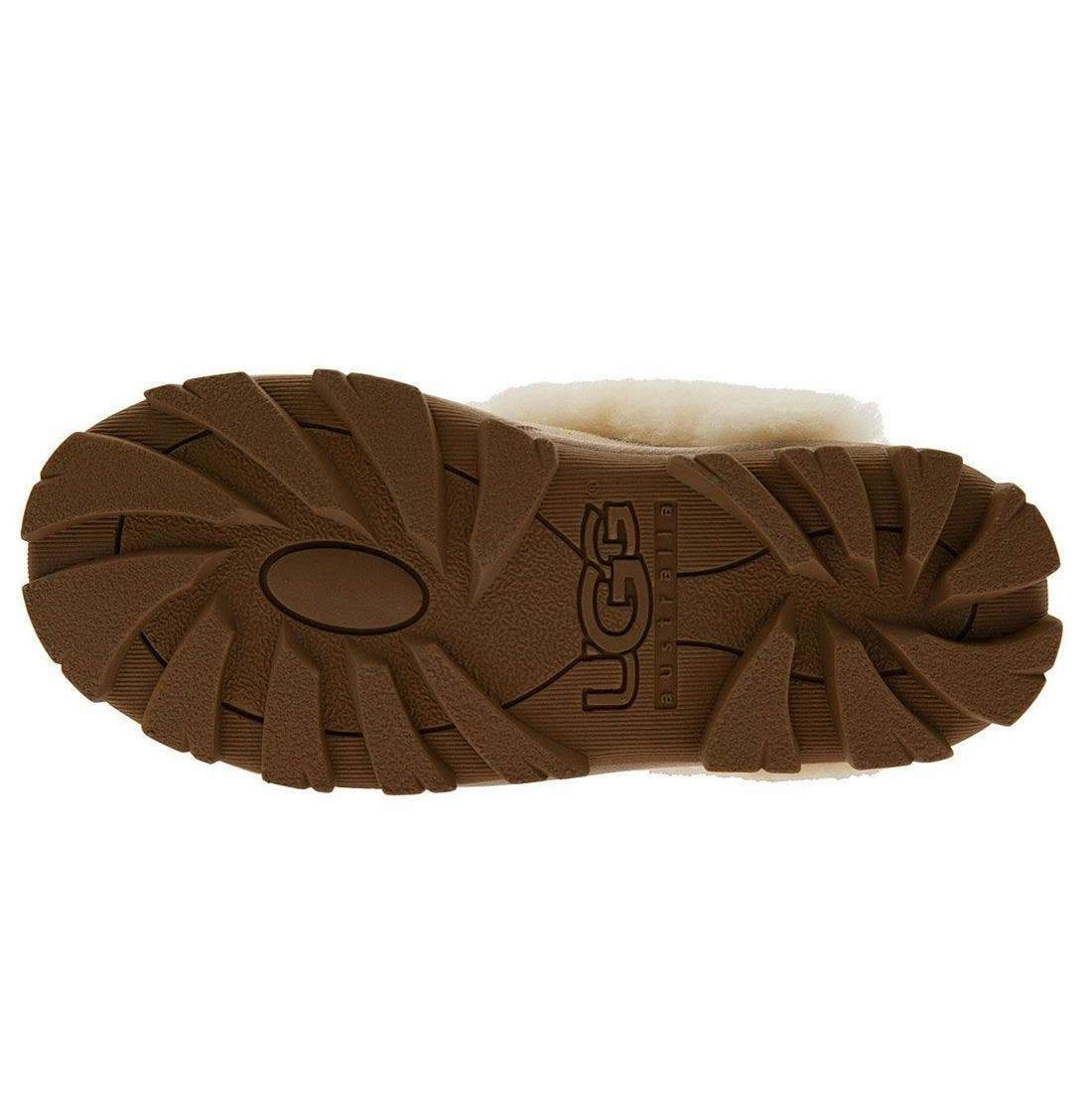 ,                             Genuine Shearling Slipper,                             Alternate thumbnail 189, color,                             SAN
