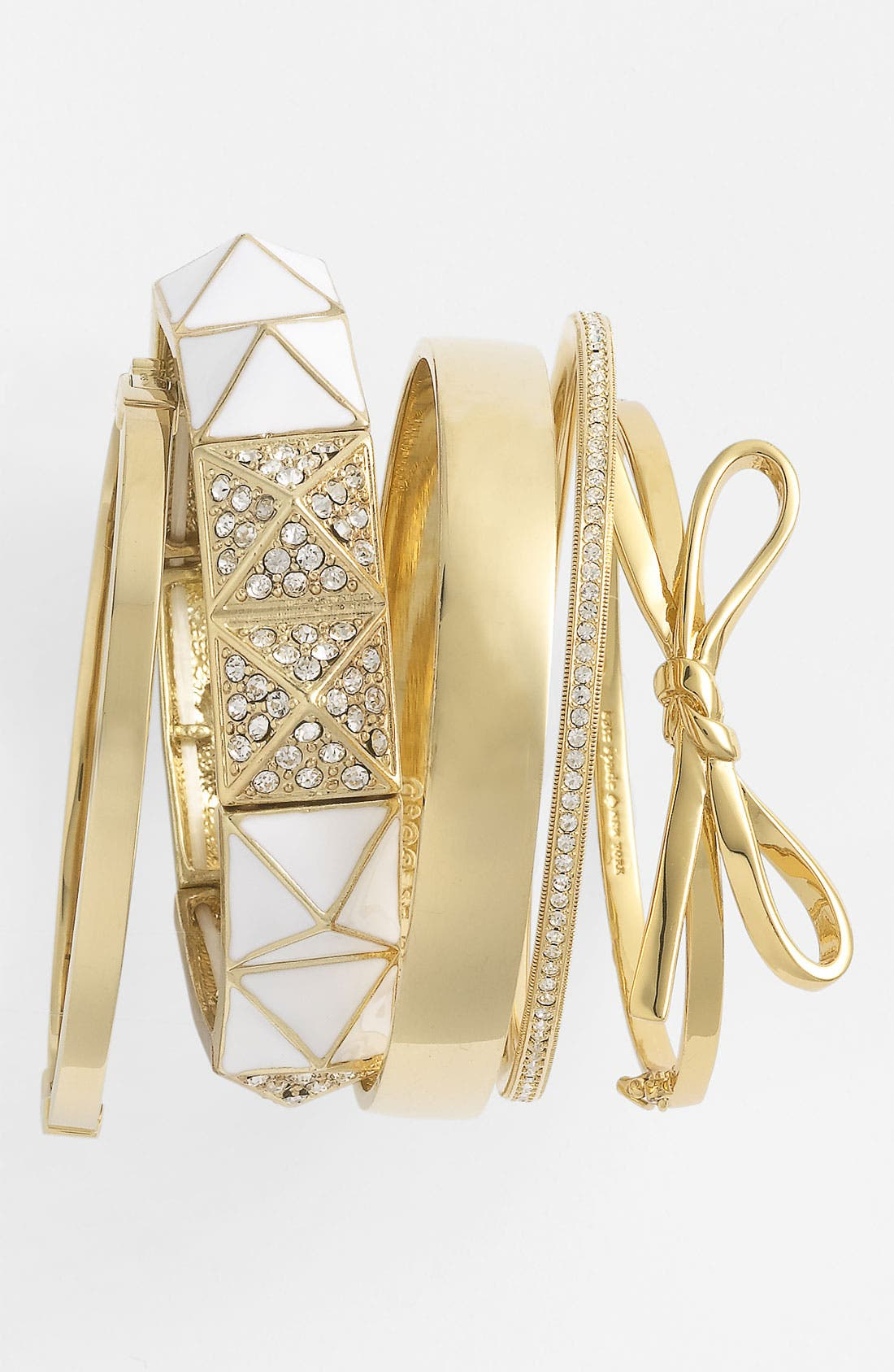 ,                             'skinny mini' bow bangle,                             Alternate thumbnail 40, color,                             711