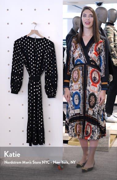 Haylow Metallic Fleck Long Sleeve Dress, sales video thumbnail