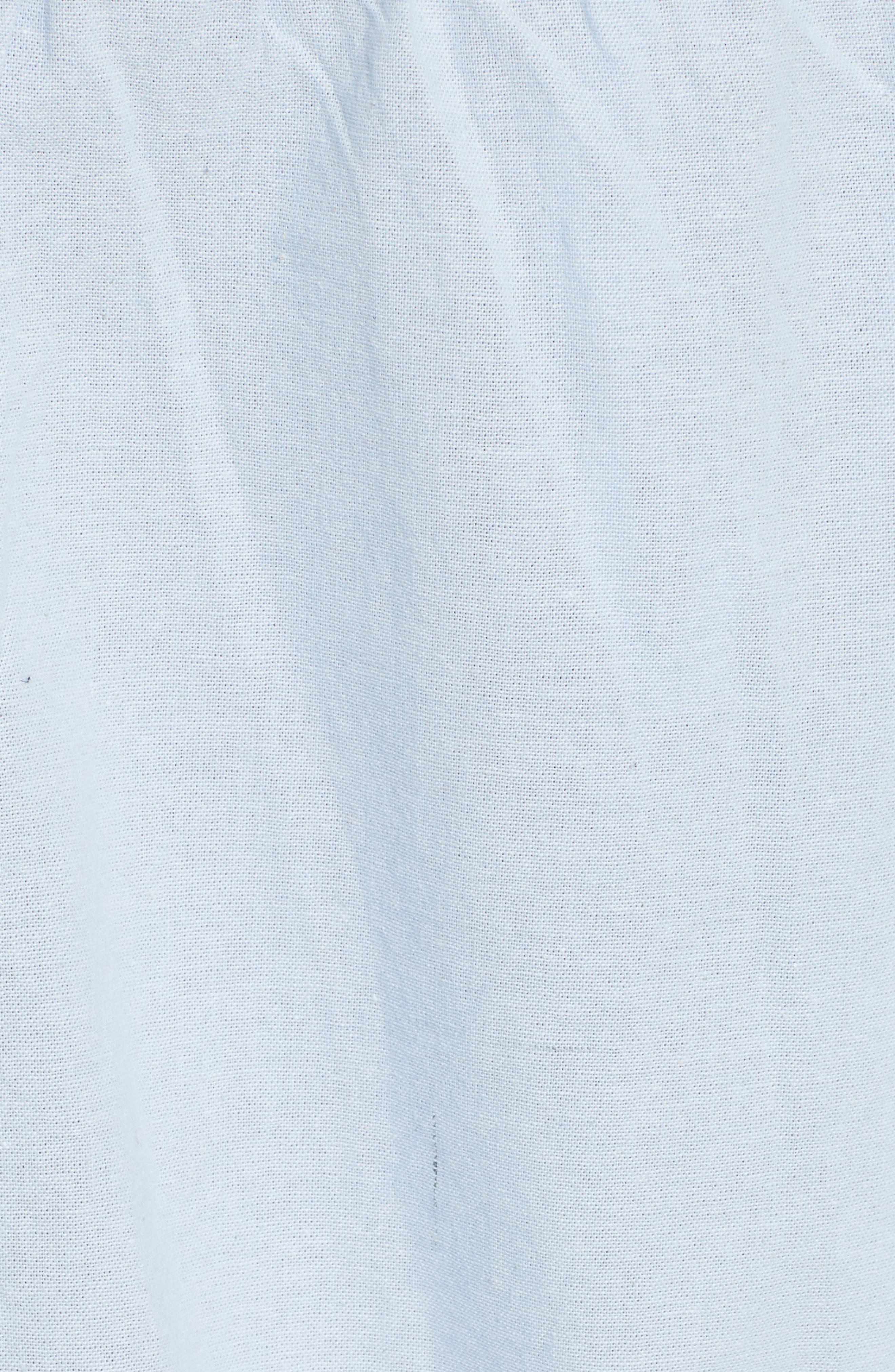 ,                             'Show Me Some Shoulder' Off the Shoulder Cotton Blouse,                             Alternate thumbnail 16, color,                             456