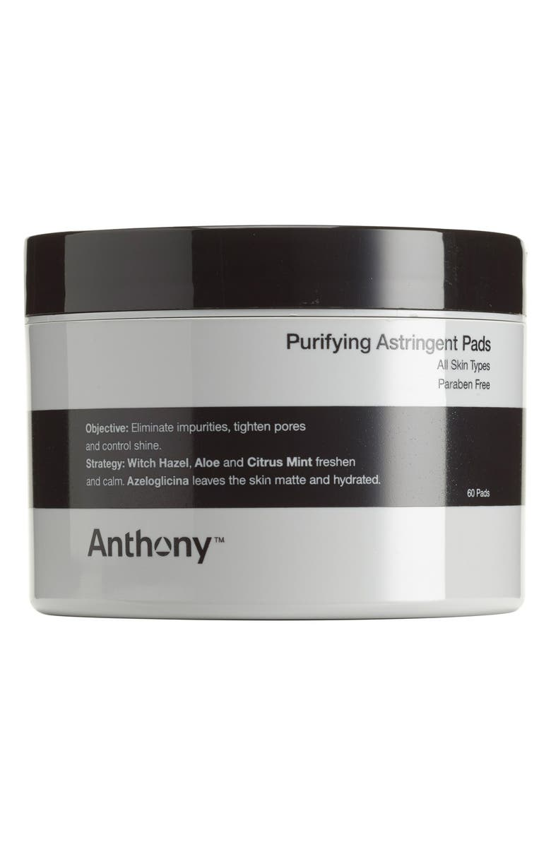 ANTHONY<SUP>™</SUP> Purifying Astringent Pads, Main, color, 000