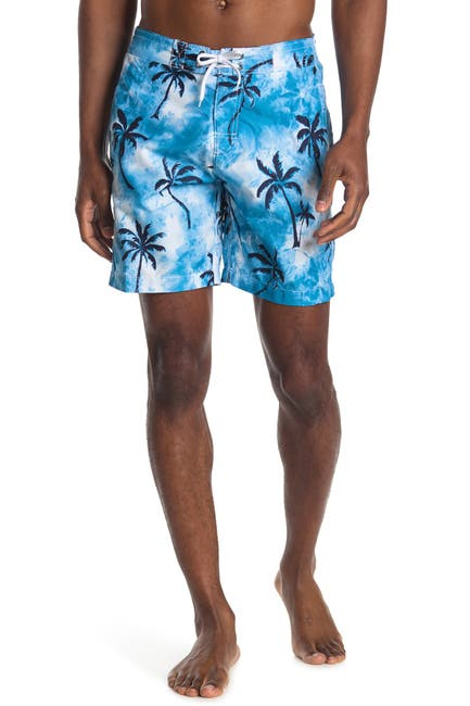 Image of Trunks Surf and Swim CO. Swami Tropical Board Shorts