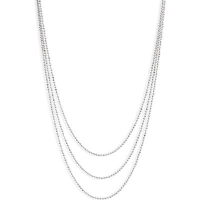 Ef Collection Hasson Tripe Layer Chain Necklace