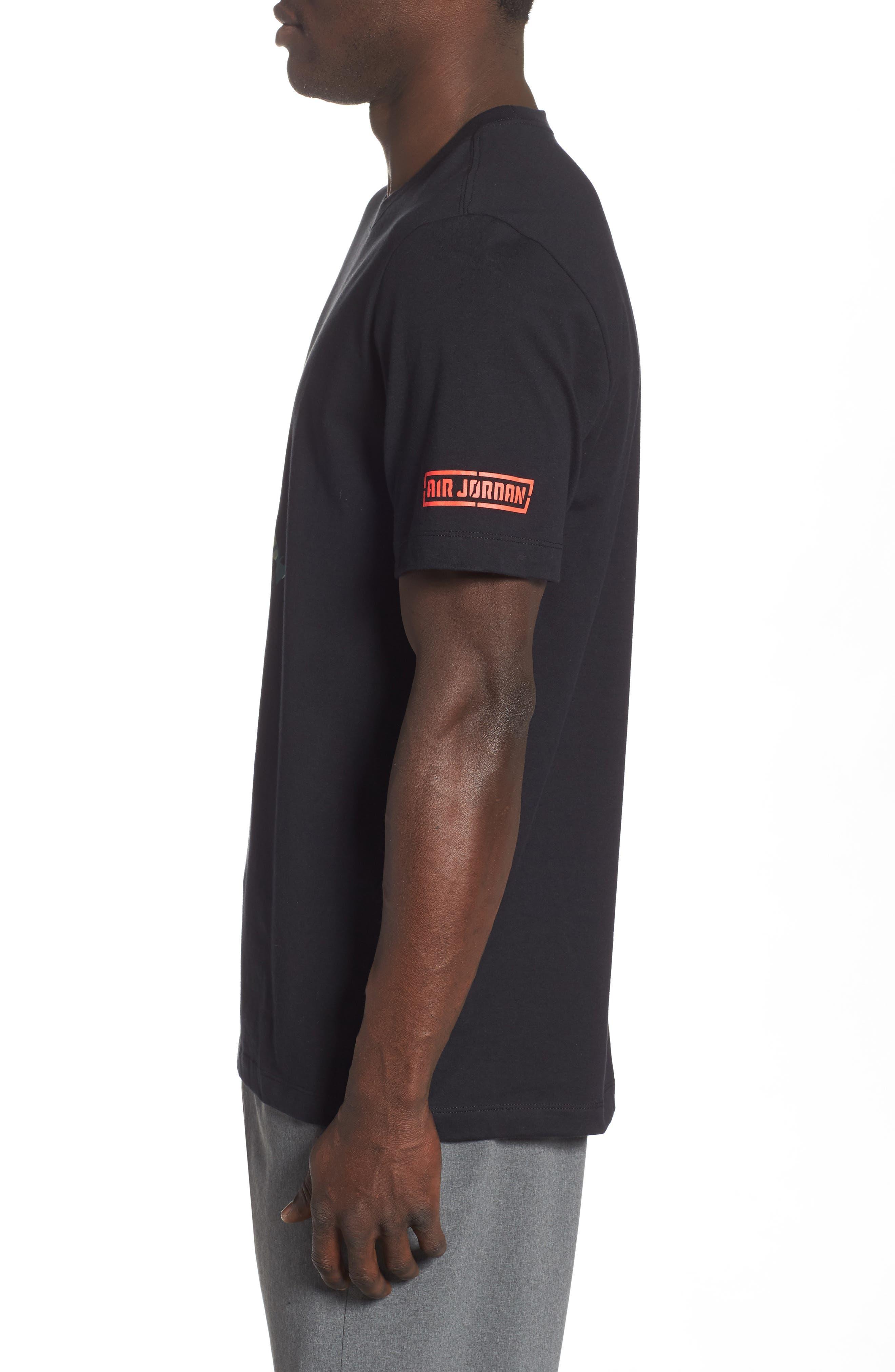 ,                             Camo Jumpman T-Shirt,                             Alternate thumbnail 3, color,                             010