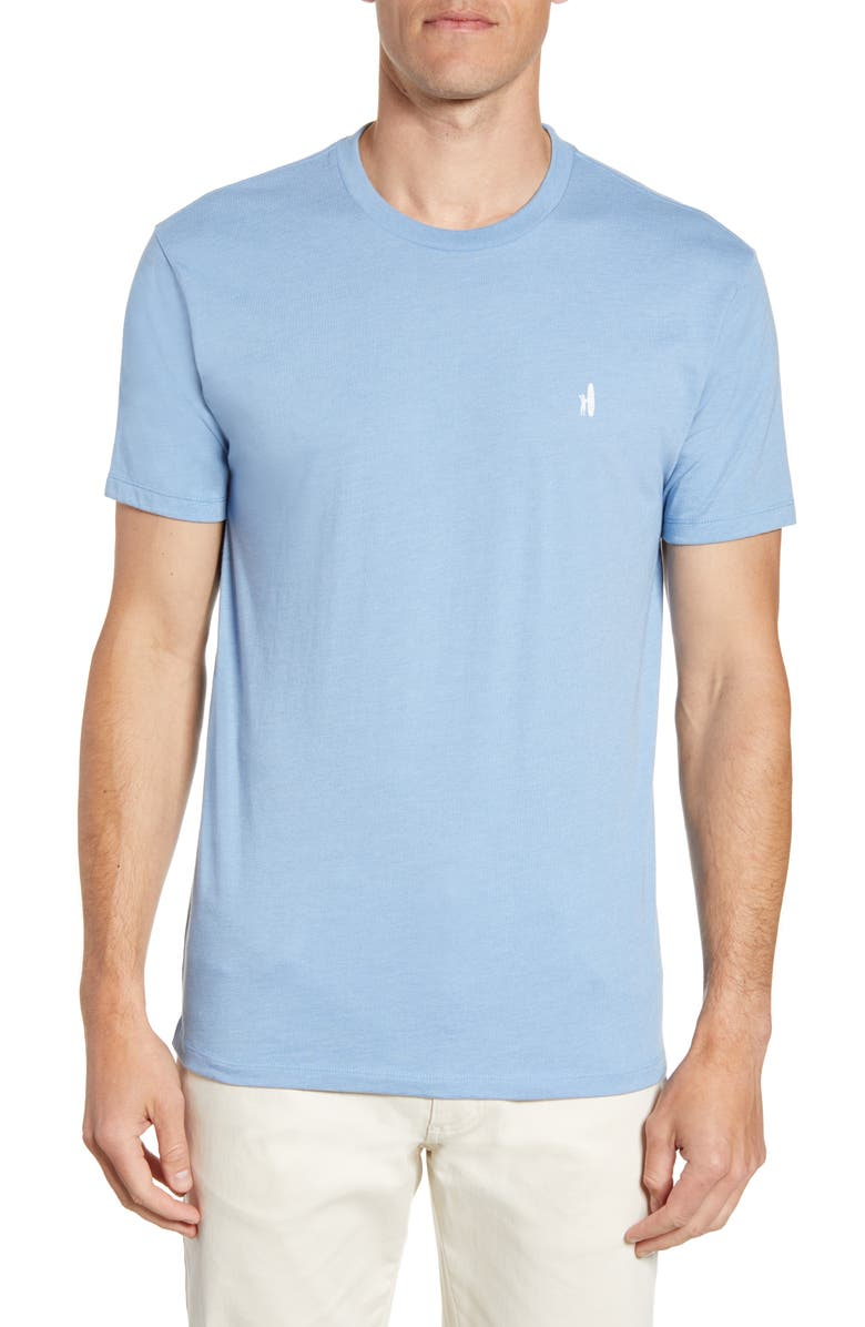 JOHNNIE-O Mid-Century Surfer Classic Fit Graphic T-Shirt, Main, color, GULF BLUE