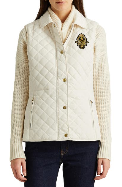 Lauren Ralph Lauren DIAMOND QUILTED VEST