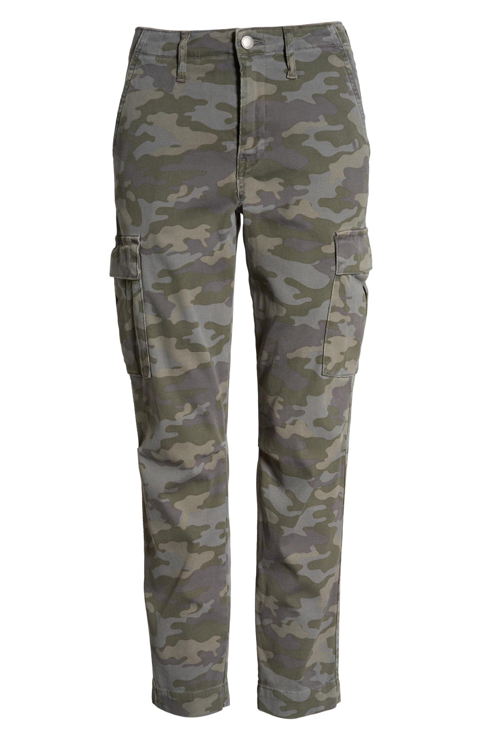 6aa8315e848 Hudson Jane Slim Camo Cargo Pants | Nordstrom