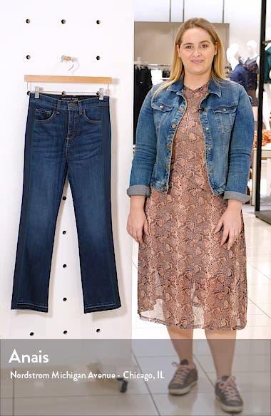 Carly Tuxedo Kick Flare Jeans, sales video thumbnail