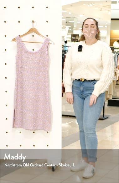 Fringe Tweed Sheath Dress, sales video thumbnail