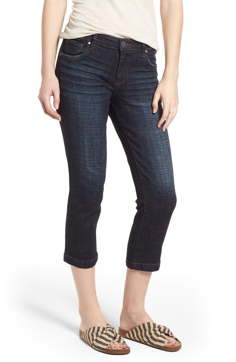 KUT FROM THE KLOTH Lauren Crop Jeans, Main, color, 410