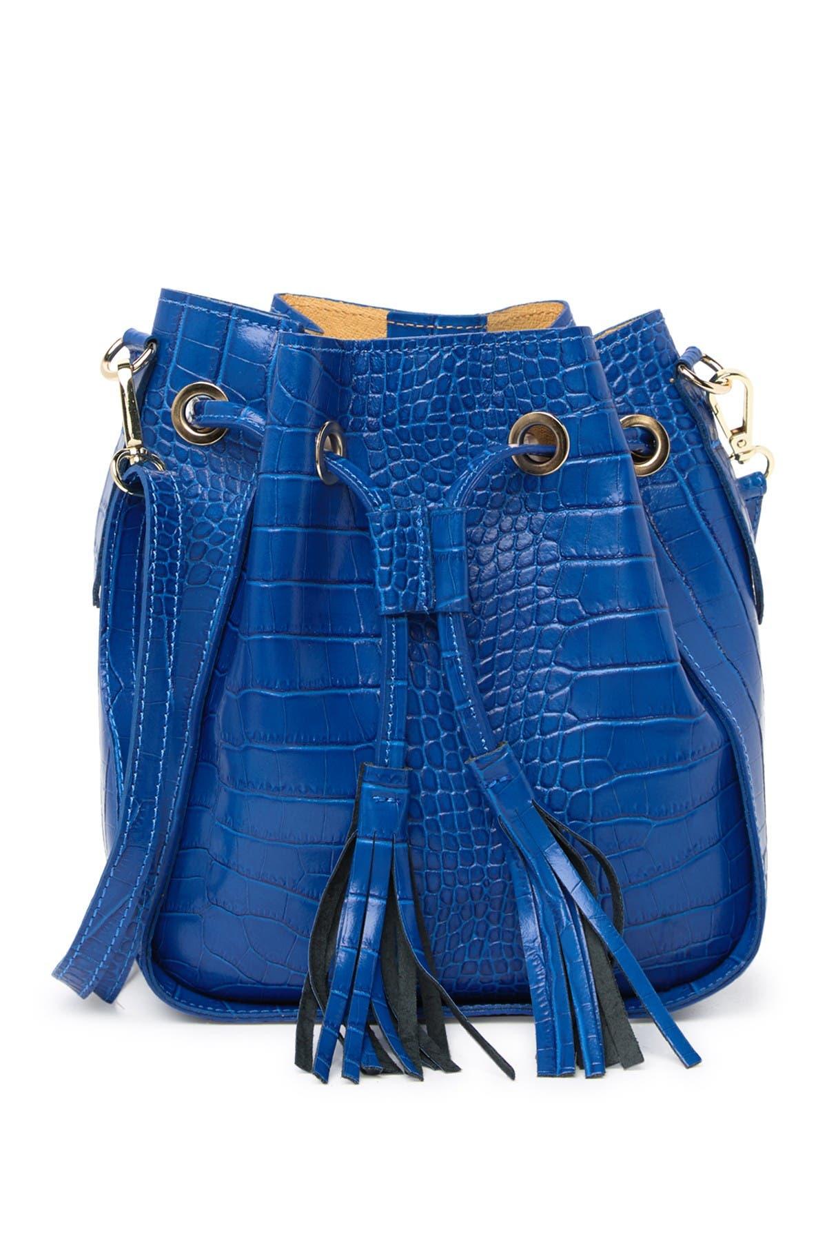 Image of Persaman New York Berenice Embossed Bucket Bag