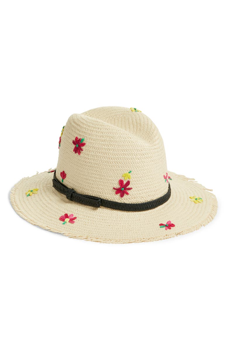 Embroidered Floral Trilby Hat by Kate Spade New York