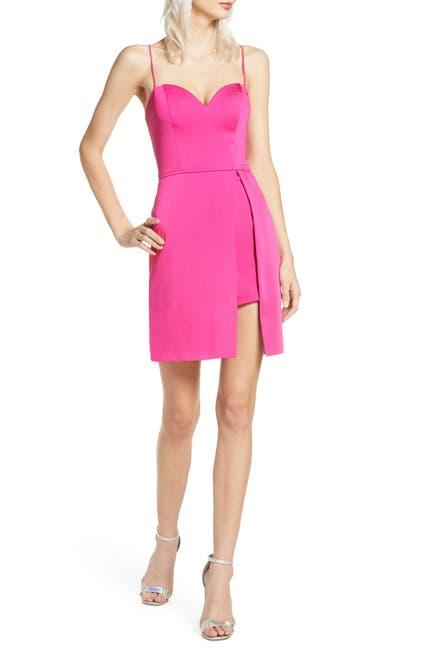 Image of IEENA FOR MAC DUGGAL Overskirt Party Dress