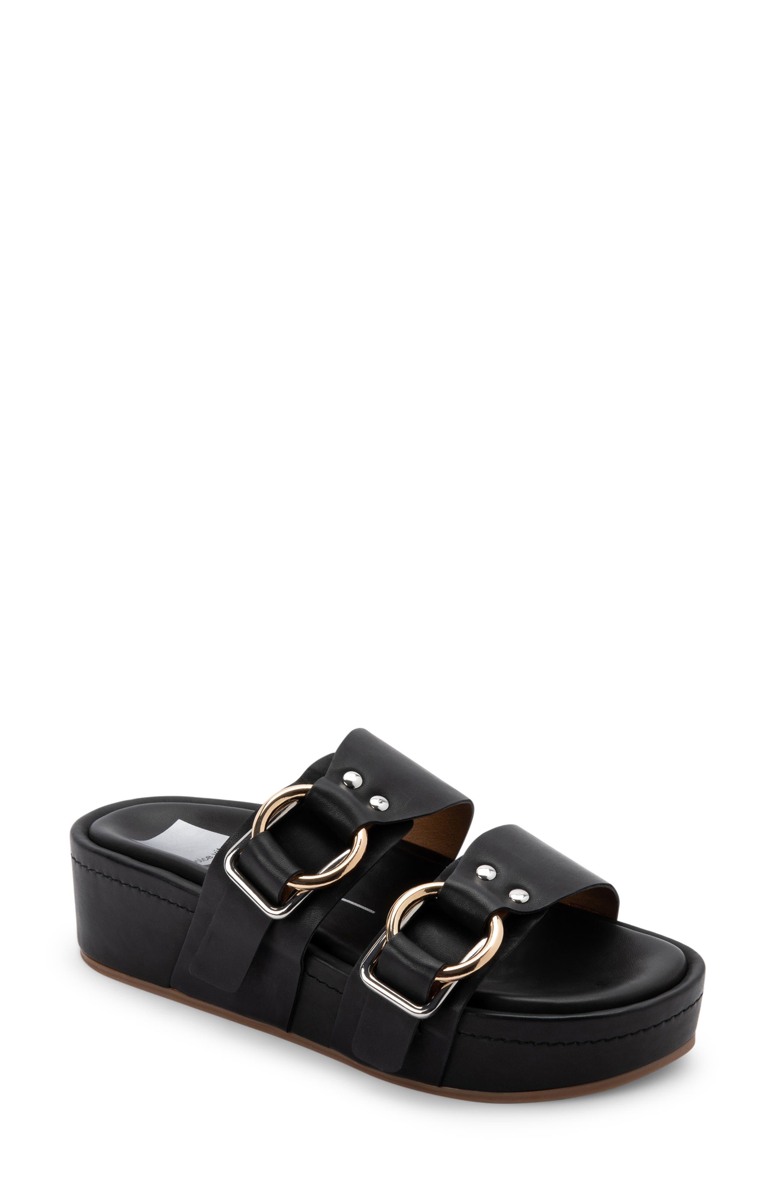 Cici Platform Slide Sandal