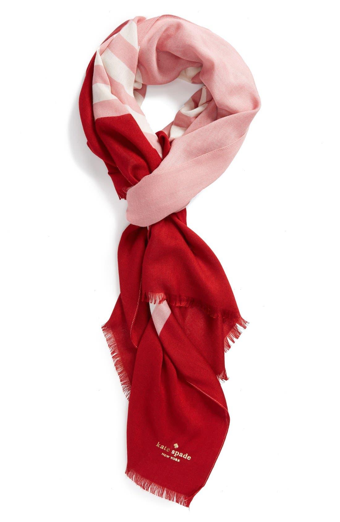 ,                             'six month stripe' scarf,                             Main thumbnail 8, color,                             650