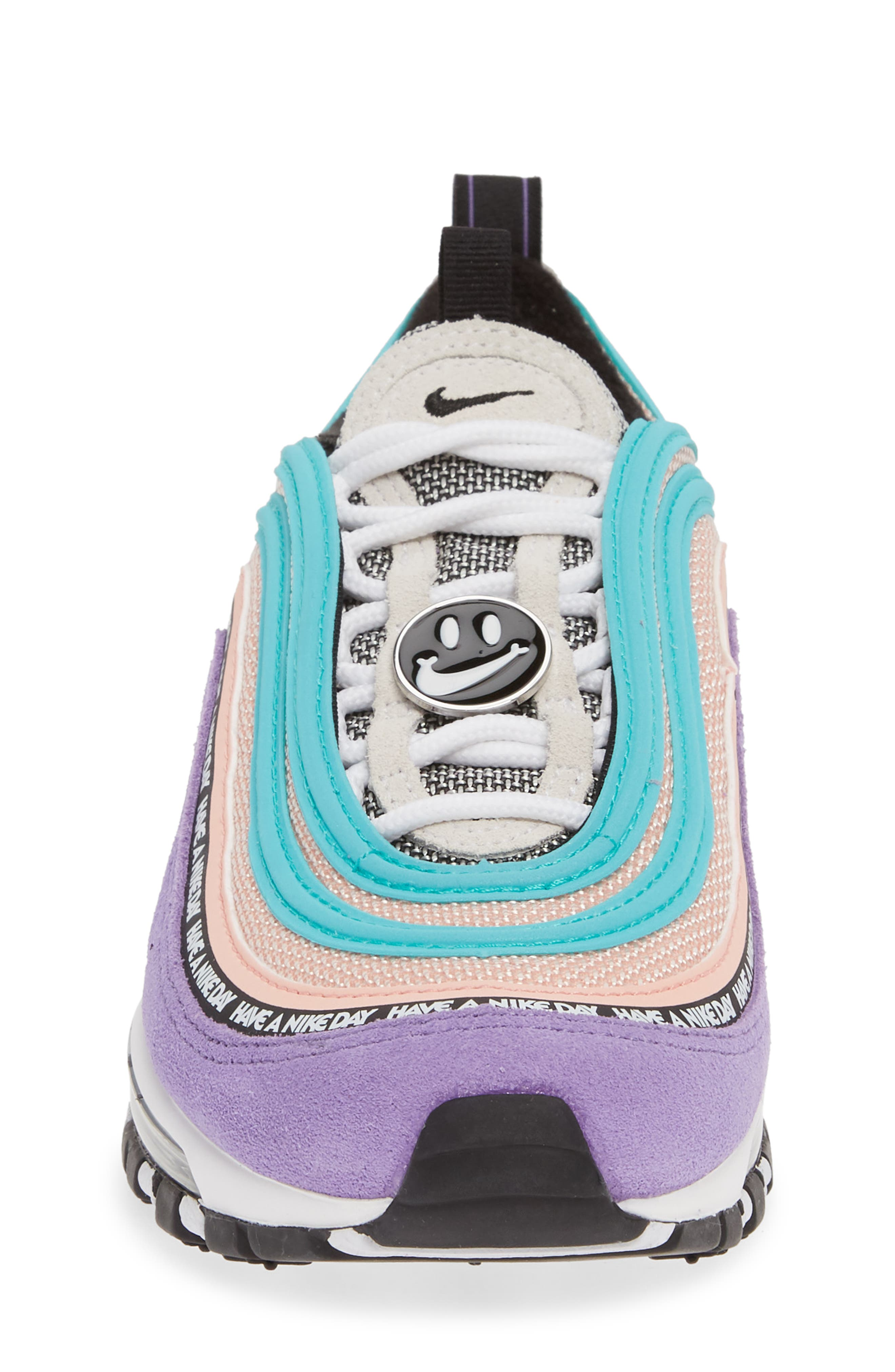 ,                             Air Max 97 SE Have a Nike Day Sneaker,                             Alternate thumbnail 4, color,                             500