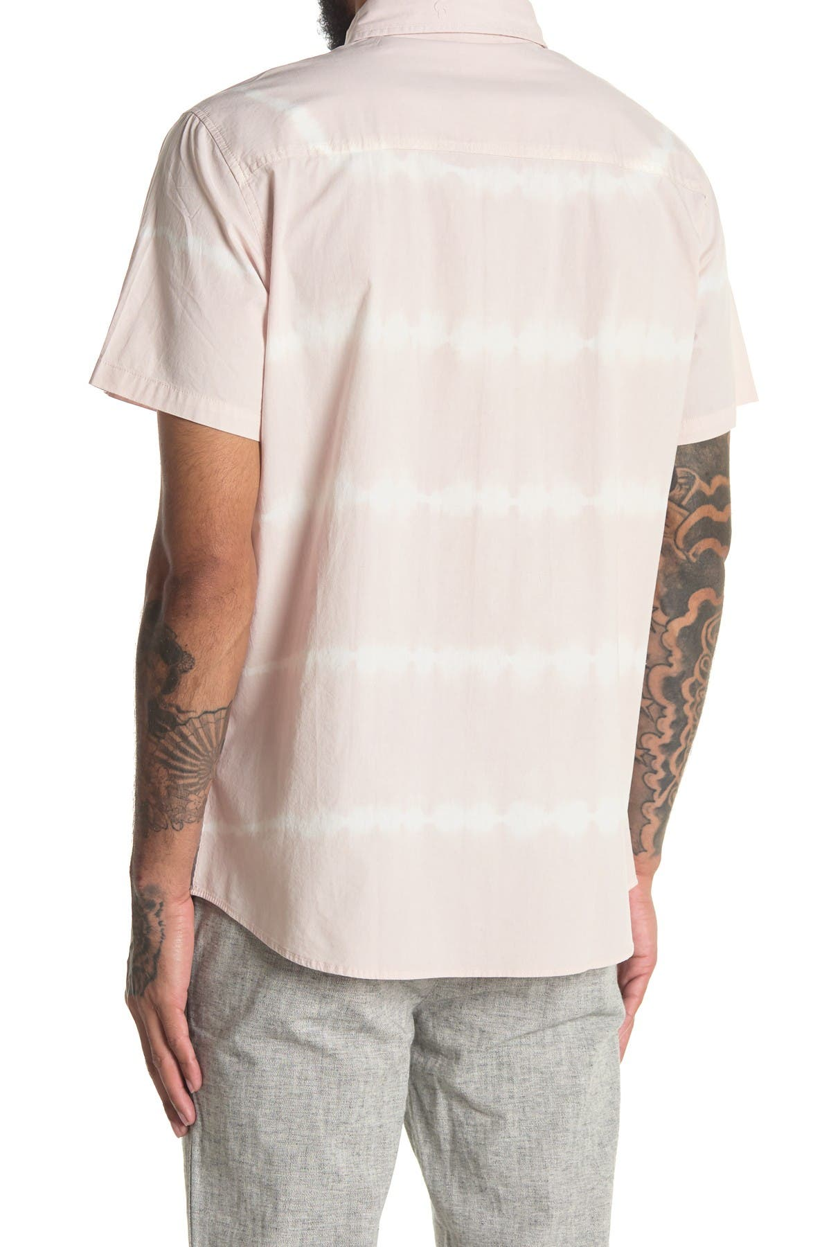 Image of Sovereign Code Hawthorne Short Sleeve Button Down Shirt
