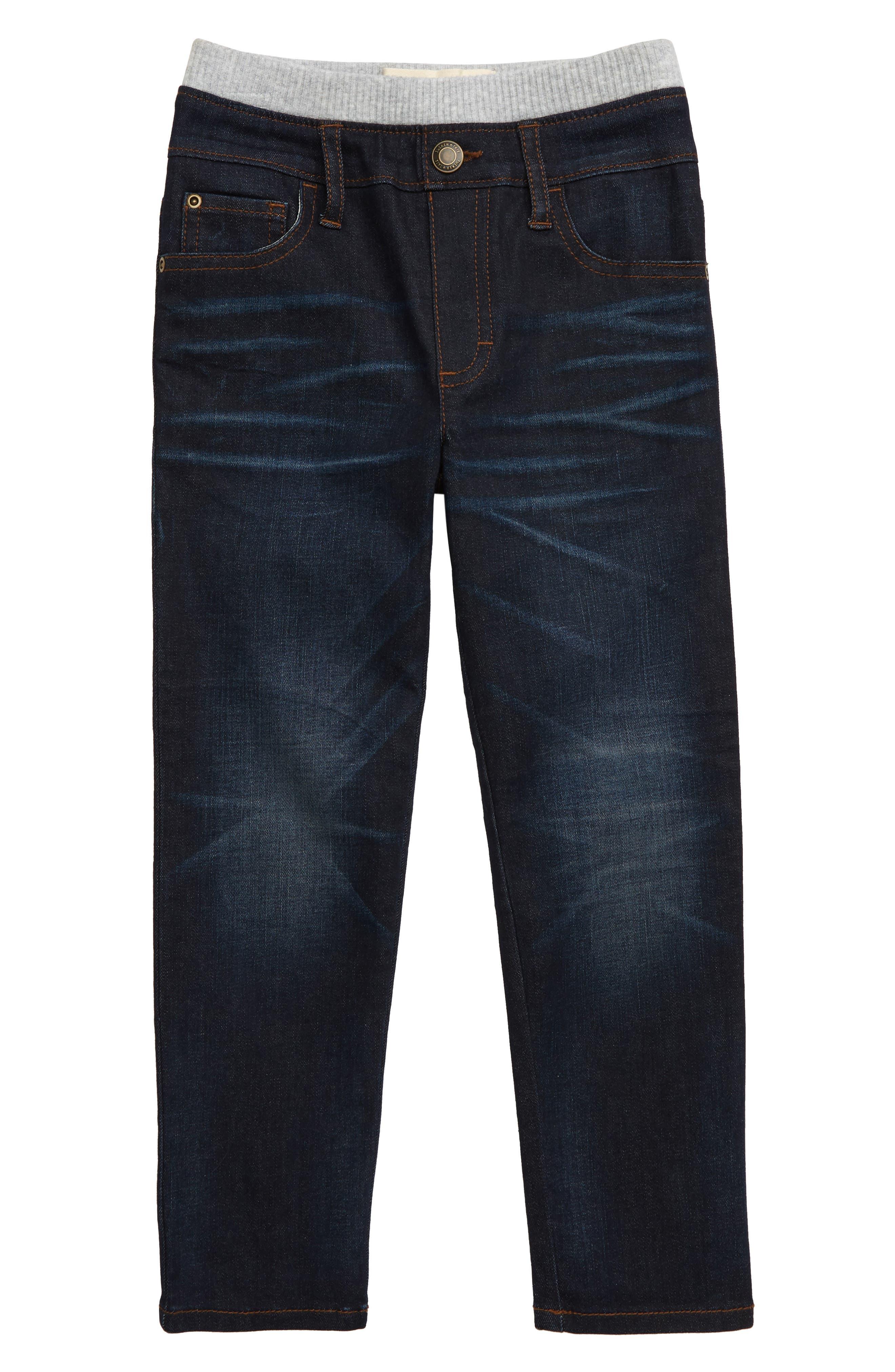 Boys Tucker  Tate Straight Leg Jeans Size 6  Blue