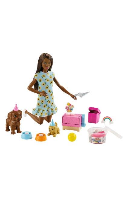 Image of Mattel Barbie Puppy Party Dough Play Set