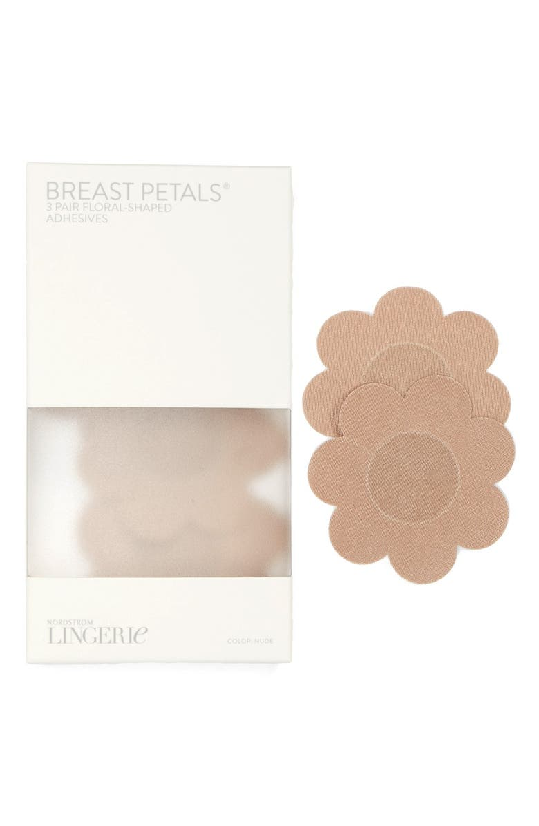 NORDSTROM LINGERIE 3-Pack Breast Petals, Main, color, NUD