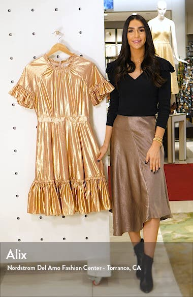 Metallic Swing Dress, sales video thumbnail