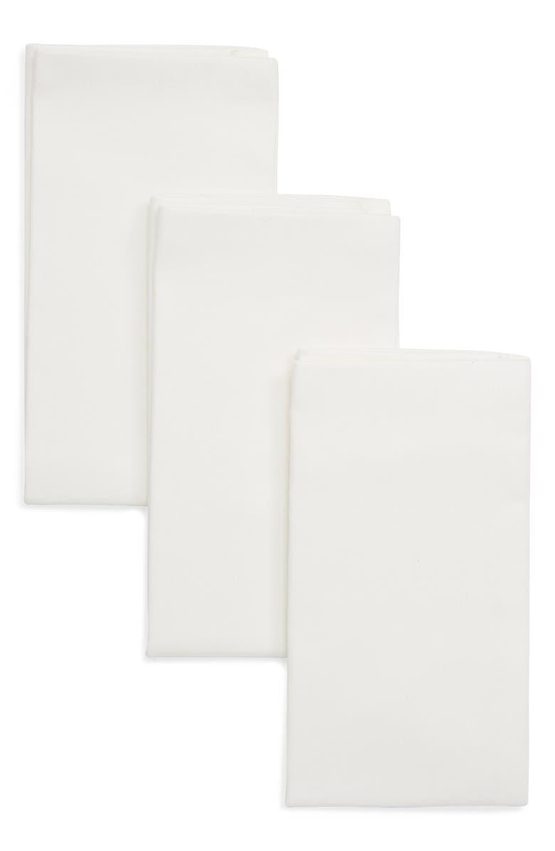 Mens Shop 3 Pack Cotton Pocket Squares