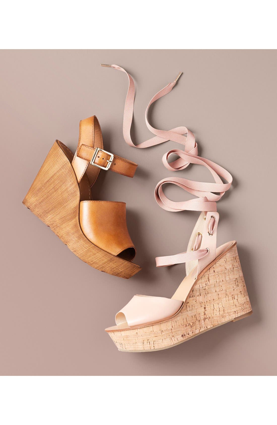 ,                             'Willow' Platform Wedge Sandal,                             Alternate thumbnail 5, color,                             210
