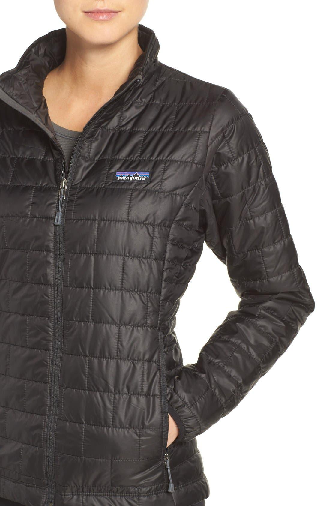 ,                             Nano Puff<sup>®</sup> Water Resistant Jacket,                             Alternate thumbnail 11, color,                             BLACK
